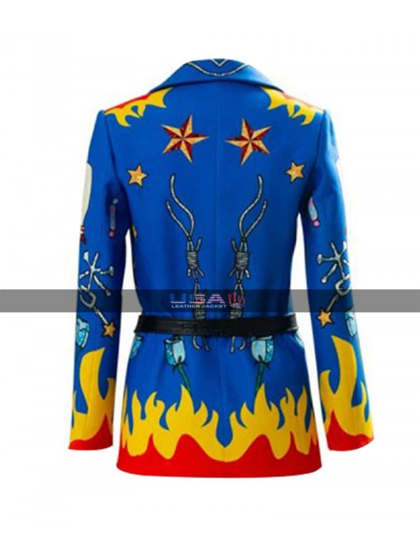 Birds Of Prey Harley Quinn Blazer Coat